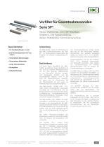 Vorfilter für Gasentnahmesonden  Serie SP® - SP2000/V20 - 1