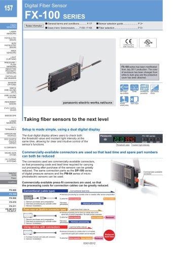 FX-100 SERIES Digital Fiber Sensor