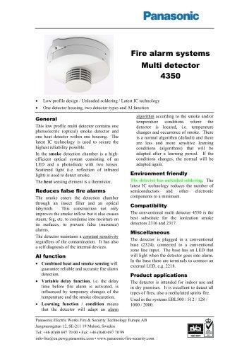 Multi detector 4350
