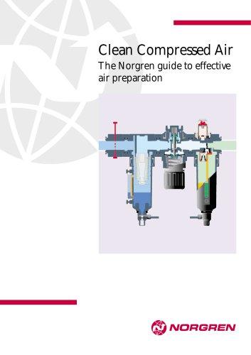Brochure COMBINATION FILTER/REGULATORS AND LUBRICATORS (FRL)
