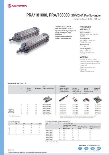 Profilzylinder Zugstangenzylinder
