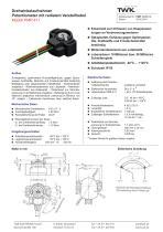 Drehwinkelaufnehmer PMR411