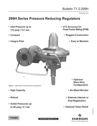 299H Series Pressure Reducing Regulator