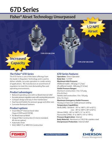 67D Series Fisher Airset Technology Unsurpassed Flier