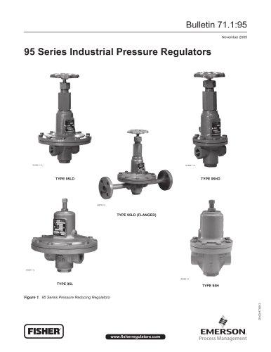 95 Series Industrial Pressure Regulators