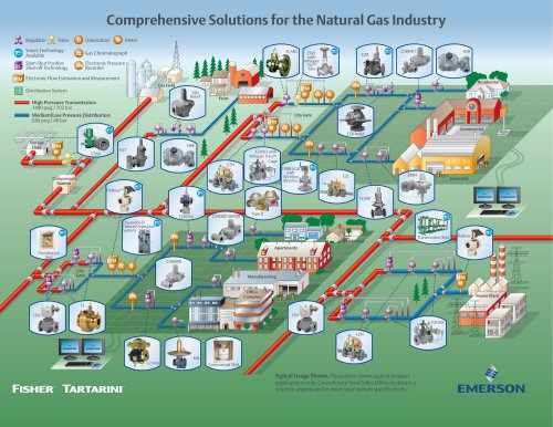 Comprehensive Solutions for the Natural Gas Industry