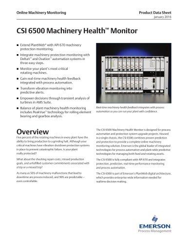 CSI 6500 Overview