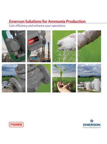 Emerson Solutions for Ammonia Production