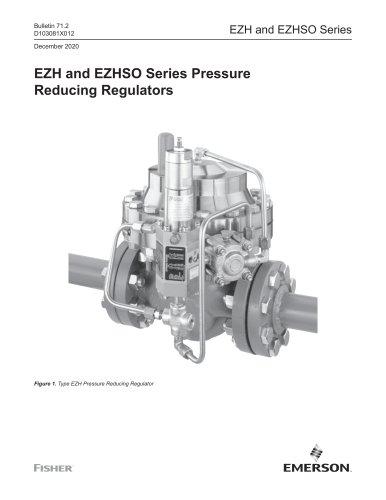 EZH and EZHSO Series Pressure Reducing Regulators
