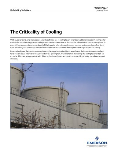 The Criticality of Cooling