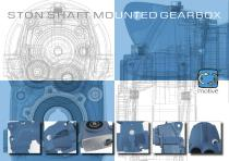 STON shaft mounted gearbox