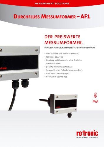 Durchfluss Messumformer - AF1
