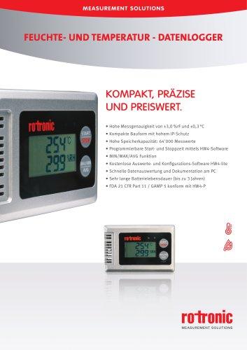 HL-1D - Feuchte- und Temperatur-Datenlogger