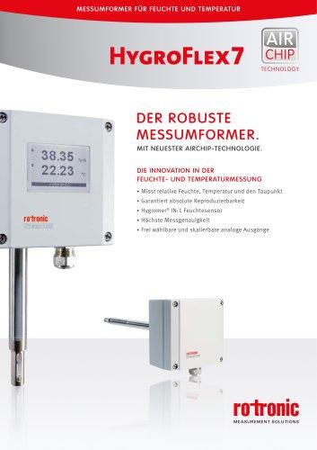 HygroFlex7 - Der robuste Messumformer