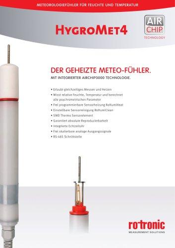HygroMet4 - HM4 - Geheizter Meteo-Fühler