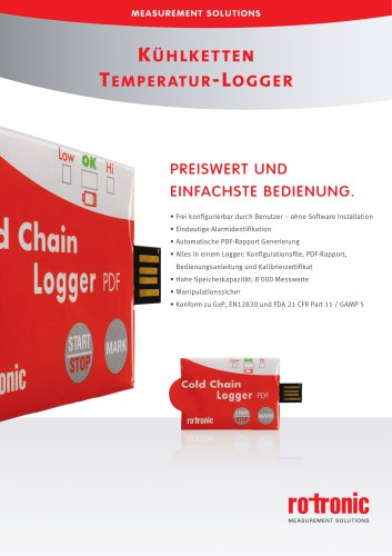 Kühlketten Temperatur-Logger - TL-CC1
