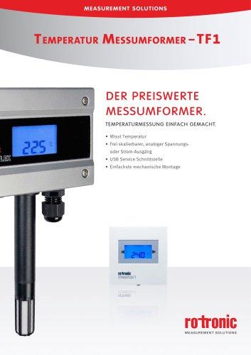 Temperatur Messumformer – TF1