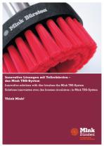 Innovative Lösungen mit Tellerbürsten - das Mink TBS-System