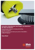 Innovative Tellerbürsten zum Tragen und Abdichten - das Mink TD-System