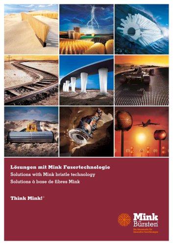 Lösungen mit Mink Fasertechnologie
