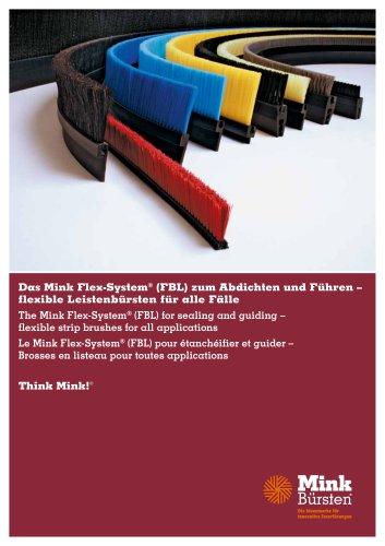 Mink Flex-System - zum Abdichten und Führen