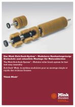 Das Mink Zick-Zack-System® – Modulares Baukastenprinzip: Einfachste und schnellste Montage für Walzenbürsten