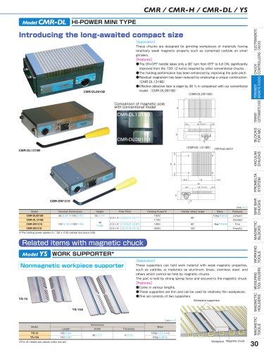 CMR / CMR-H / CMR-DL / YS Model CMR-DL HI-POWER MINI TYPE