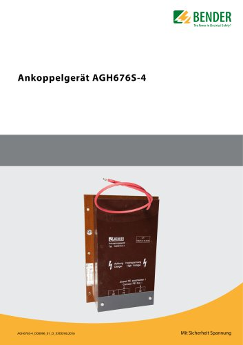 Ankoppelgerät AGH676S-4