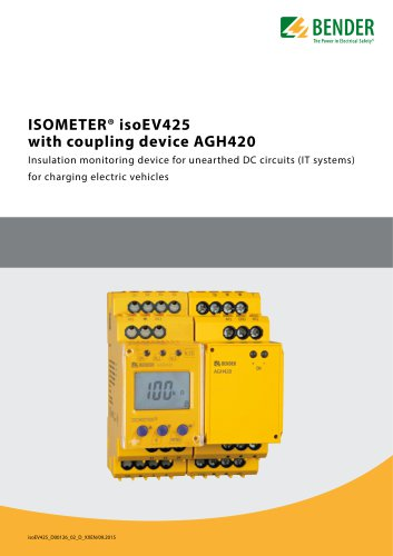 ISOMETER® isoEV425 with AGH420
