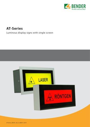 Series AT-Display panels