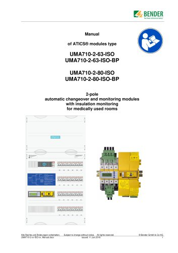 UMA710-2-xx-ISO, ...-BP