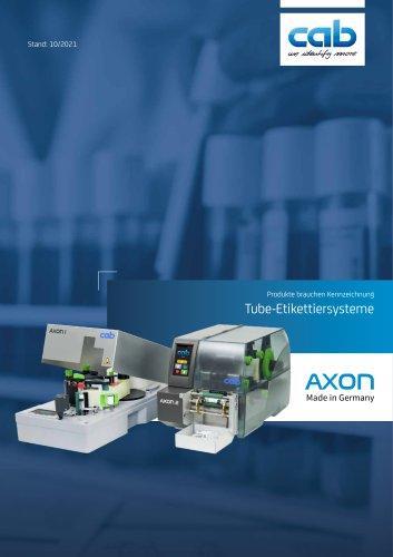 AXON 2 - Tube-Etikettiersystem