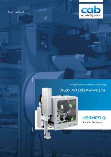Druck- und Etikettiersystem HERMES Q
