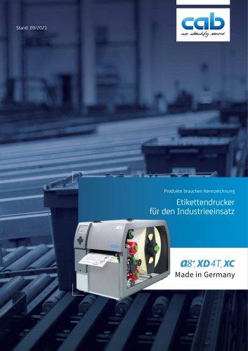 Etikettendrucker A8+ und X-Serie
