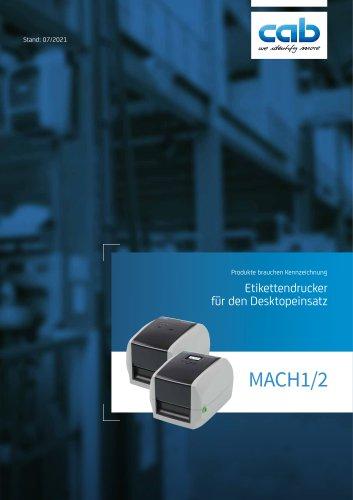 Etikettendrucker MACH1/MACH2