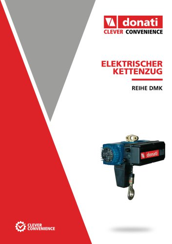 Elektrokettenzug – Serie DMK