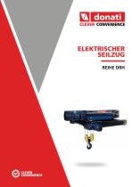 Elektroseilzug – Serie DRH - 1