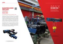 Elektroseilzug – Serie DRH - 2