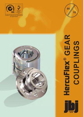 All steel gear couplings