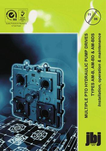 AM-B, AM-BD, AM-BDS installation, operation, maintenance