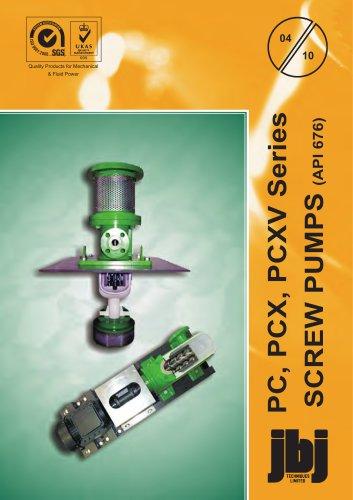 API 676 compliant screw pumps