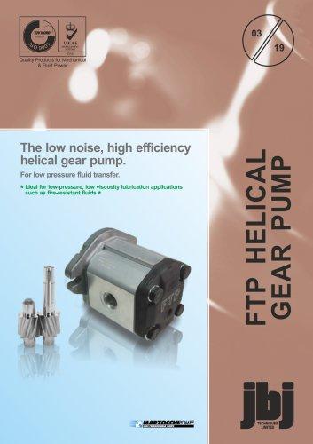 FTP - helical gear fluid transfer pumps