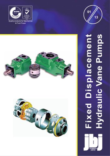 HD Series  HIGH PRESSURE  VANE PUMPS