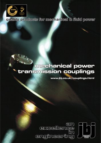 mechanical power transmission couplings from jbj Techniques Limited