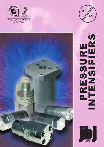 pressure intensifiers