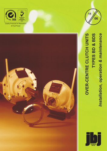 RM-GR, RM-BD & RM-BDS installation, operation, maintenance