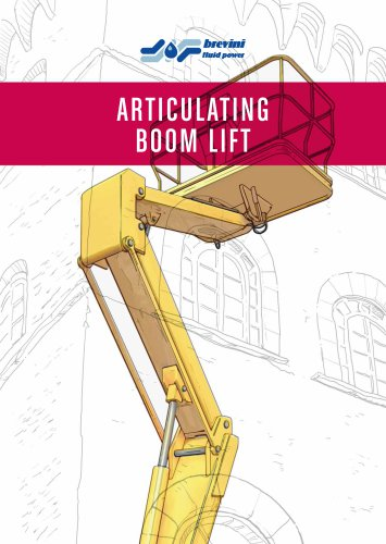 Articulated boom lift equipment