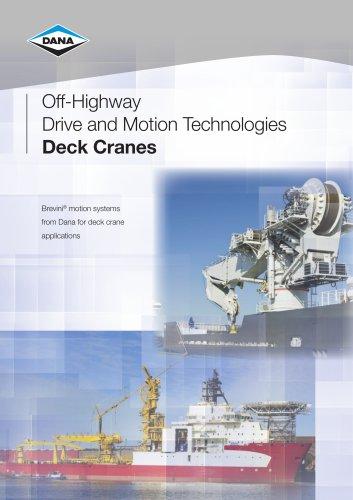 Deck Crane Brochure