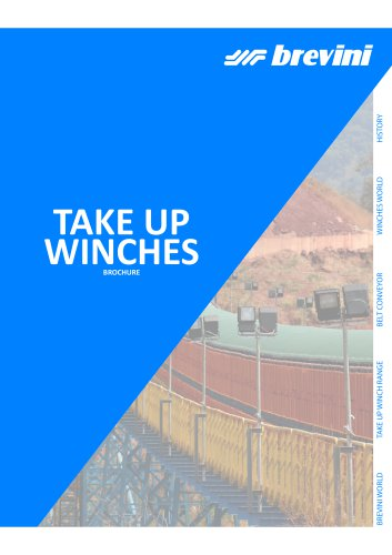 Take Up Winches for mining