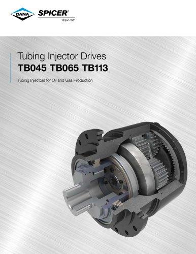 Tubing Injector Drives TB045 TB065 TB113